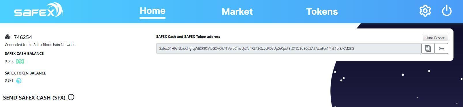 Safex Public Key