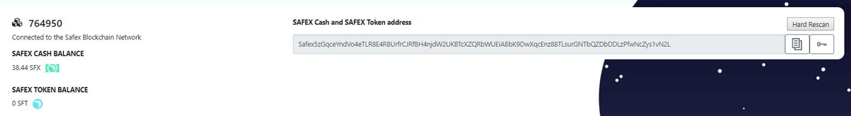 Safex Token Transaction Completed