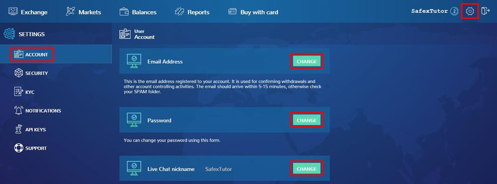 Basic Crypto Exchange Tips Account