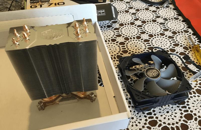 CPU Cooler Safex Mining Rig