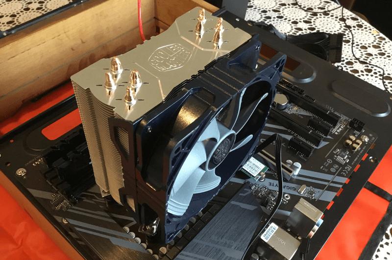 Cooler Safex Mining Rig