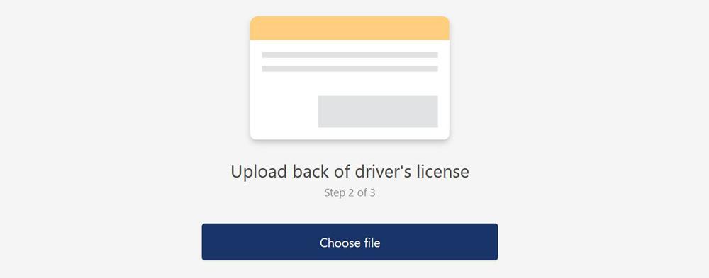 KYC Verification Xcalibra Exchange Driver's Licence