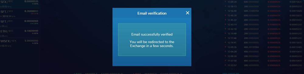 Make an Account on a Crypto Exchange Email Verification