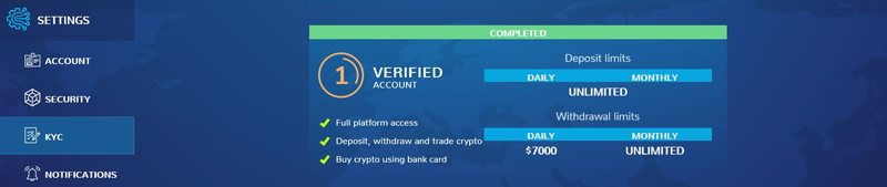 Make an Account on a Crypto Exchange Xcalibra Finished