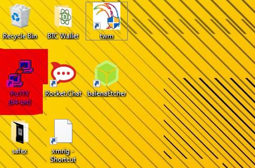 Putty Desktop