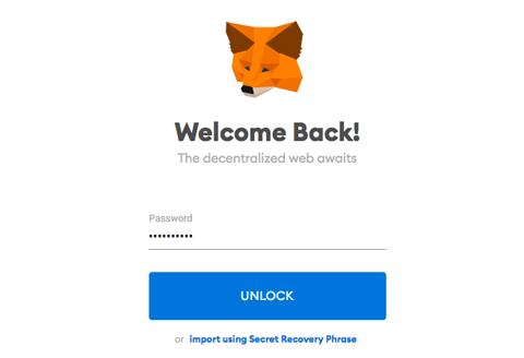 Install MetaMask Wallet Unlock MetaMask