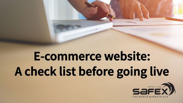 Test plan for your E-commerce website: A check list before going live